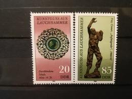 FRANCOBOLLI STAMPS GERMANIA DEUTSCHE DDR 1984 MNH** NUOVI SERIE COMPLETA COMPLETE ART TREASURES GERMANY - [6] Repubblica Democratica