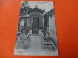 Tombeaux Historiques Père Lachaise Rachel - France