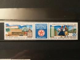 FRANCOBOLLI STAMPS GERMANIA DEUTSCHE DDR 1984 MNH** NUOVI SERIE COMPLETA COMPLETE LABOUR FESTIVAL  GERMANY - [6] Repubblica Democratica