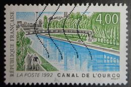 2764 France 1992 Oblitéré Canal De L' Ourcq - France