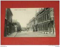 SERAING  -  La Gare Et La Poste    - - Seraing
