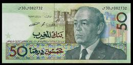 # # # Banknote Marokko (Morocco) 50 Dirhams Von 1987 UNC- # # # - Marokko