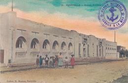 FERRYVILLE / GROUPE SCOLAIRE (TAMPON MARINE NATIONALE) - Túnez
