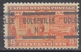 USA Precancel Vorausentwertung Preo, Locals New York, Dolgeville E13-576 - Estados Unidos