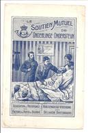 Belgische Briefdragers Bezoek Aan De Makker/Facteurs Des Postes De Belgique Visite Au Camarade.F.XHARDEZ - Poste & Facteurs