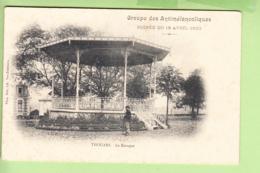 THOUARS - Le Kiosque - Soirée Du 18 Avril 1903 : Groupe Des ANTIMELANCOLIQUES - Dos Simple - 2 Scans - Thouars