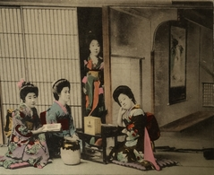 Japan - Japon  //  Group Of Woman - Geisha?? 1913 - Sin Clasificación