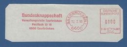 BRD AFS - SAARBRÜCKEN, Bundesknappschaft - Verwaltungsstelle Saarbrücken 1993 - Machine Stamps (ATM)