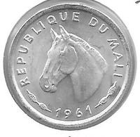 *mali 10 Francs 1961  Km 3 Unc - Mali (1962-1984)