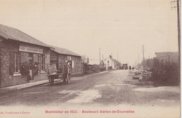 MONTDIDIER En 1921  Boulevard Adrien De Courcelles - Montdidier