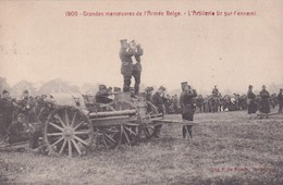1909 Grandes Manoeuvres De L Armee L Artillerie Tir Sur L Ennemi - Guerre 1914-18