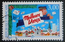 3125 France 1997 Oblitéré  Meilleurs Voeux Du Facteur Facteur Volant De Michel Trani - Gebraucht