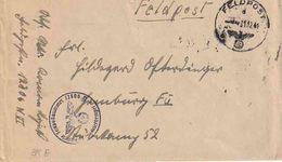 """WO 2 : FELDP. Bf """"FELDPOST / D/ 31.12.41"""" + """"Dienststelle FP¨Nr 12806 N""""  (= MARINE STAMM Rgt. B E V E R L O O)  RRR !!! - Guerre 40-45"""