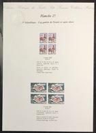 France - Gravure - Collection Historique Du Timbre - Planche 27 - Coq Gaulois De Decaris - Sujet Divers - 1962 à 1963 - Postdokumente