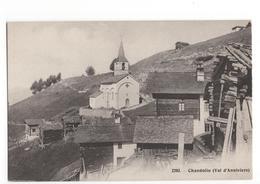 Zwitserland Schweiz Switserland  - Chandolin  Val D Anniviers  - 1915 - Ohne Zuordnung