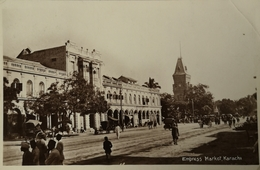Karachi // Carte Photo // Empress Market 19?? - Pakistan