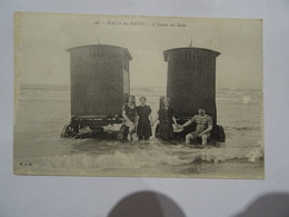CPA  59  MALO-les-BAINS L'Heure Du Bain 1918 TBE - Malo Les Bains