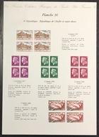 France - Gravure - Collection Historique Du Timbre - Planche 30 - République De Cheffer - Sujet Divers - 1967 à 1969 - Postdokumente
