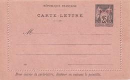 PORT-SAÏD  ENTIER POSTAL/GANZSACHE/ POSTAL STATIONERY  CARTE-LETTRE - Covers & Documents