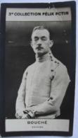 Monsieur Bouché Champion Escrime (avec Légère Trace De Pli) - 3eme Collection Photo Felix POTIN 1922 - Félix Potin