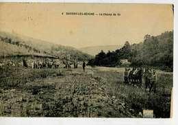 SAVIGNY LES BEAUNE  Le Champ De Tir, Utilisé Par Le 16° Régiment De Chasseurs à Cheval De Beaune,2 Cachets US Américain - Other Municipalities