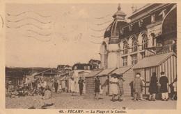 FECAMP La Plage Et Le Casino ( Lenglet 48 ) - Fécamp
