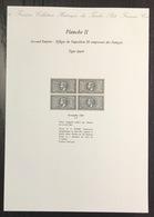 France - Gravure - Collection Historique Du Timbre - Planche 2 - Effigie De Napoléon - Lauré - 1869 - Postdokumente