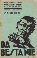 1937 Programme Tooneelkring Onder Ons Blankenberghe Théâtre En 36 Pages - Programmes