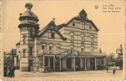 DE HAAN :  Hotel Des Brasseurs  ( Geschreven 1951 Met Zegel ) - De Haan