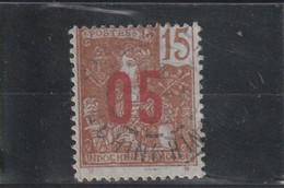 INDOCHINE Timbre De 1904-06 Surchargé  N° 60 Oblitéré - Usados
