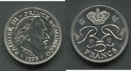MONACO - 5 F 1978 - Monaco
