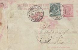 Francolise. 1919. Annullo Guller FRANCOLISE (CASERTA), Su Cartolina Postale - Storia Postale