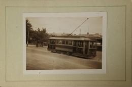 Australia  (VIC) Ballarat // Small PHOTO With TRAM - Stuart Street In Front  Golden City Hotel 1949 - Ballarat