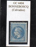 Calvados - N° 29B Obl GC 4404 Bonneboscq - 1863-1870 Napoléon III Lauré