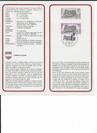 COB 1483 Avec Cachet 1er Jour Gozee - Documents Of Postal Services