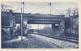 CARTE POSTALE    Aqueduc De La Forge (Oberhammer) 57  Le Canal De La Marne Au Rhin - Autres Communes