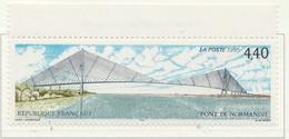 PIA  - FRA -  1995  : Inaugurazione Del Ponte Di Normandia   - (Yv  2923) - Ponti