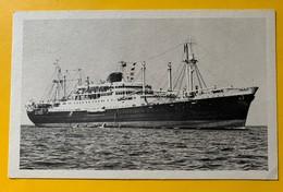 """10195 - Les Paquebots Mixtes """"Calédonien"""" Tahitien Compagnie Des Messageries Maritimes - Paquebote"""