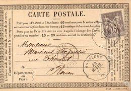 Calvados - CPP Affr N° 66 (N/B) Obl Convoyeur-station HONFLEUR H.LIS - 1877-1920: Période Semi Moderne