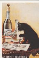 ABSINTHE BOURGEOIS - Werbepostkarten