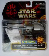 STAR WARS LA GUERRE DES ETOILES 1995 BLISTER EU STAR WARS Pas De Figurine ELECTRONIC FLASH CANNON ASSESSORY SET - Episode I