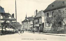 AUDINCOURT-grande Rue Et Mairie - Otros Municipios