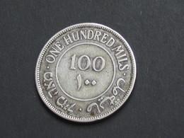 Rare Monnaie  PALESTINE 100 One Hundred  Mils 1927   **** EN ACHAT IMMEDIAT **** - Autres – Asie