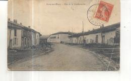 Sivry Sur Meuse, Rue De La Gendarmerie (CP Vendue Dans L'état) - France