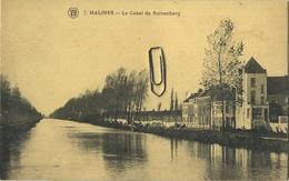 Mechelen :  Le Canal De Suivenberg   ( Met Zegel ) - Malines