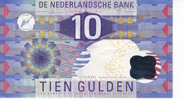 BILLETE DE HOLANDA DE 10 GULDEN DEL AÑO 1997  (BANKNOTE) - [2] 1815-… : Kingdom Of The Netherlands