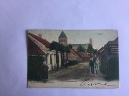 PUTTE  'T KERKSTRAATJE 1904    IN KLEUR - Kapellen