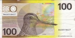 BILLETE DE HOLANDA DE 100 GULDEN DEL AÑO 1977  (BANKNOTE) PAJARO-BIRD - [2] 1815-… : Regno Dei Paesi Bassi