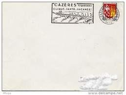 Ar277 Secap 1667 Cazères / Garonne 1966 Hte Garonne - Mechanical Postmarks (Advertisement)