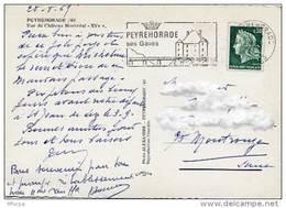Ar1505 Secap 1998 Peyrehorade 28/08/1968 Landes /CP - Marcophilie (Lettres)